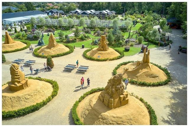 Blokhus Sandskulptur Festival 2021 i Skulpturparken Blokhus